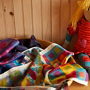 Phyllis Loney scarves and Jean Fink doll