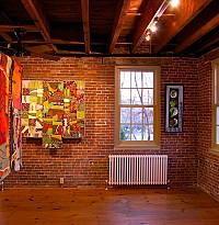 Quilts by both artists