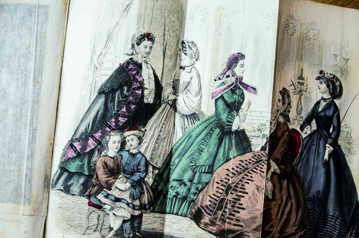 textiles in fashion early days