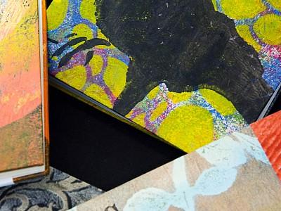 2 Bonnie Faulkner's art books
