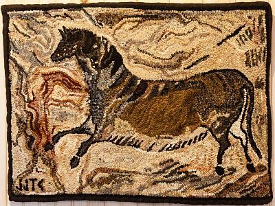 Lascaux Cave Horse by Janet Conner