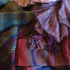 A collection of beautiful scarves