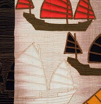 Sampan Ghosts detail