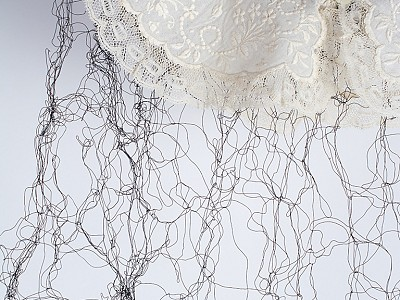 12-Allison Cooke Brown knitted wire