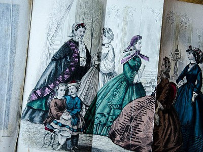 5 Godey's Ladies Book
