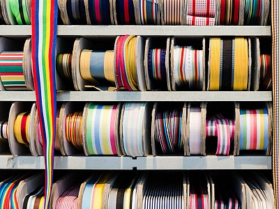 8 NYC ribbon shop